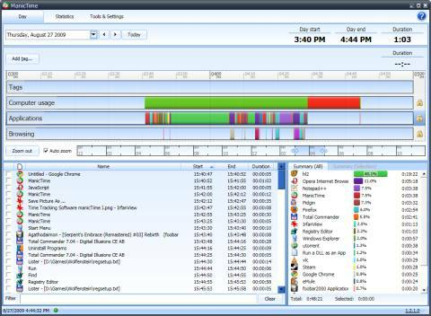 Time Tracking Software ManicTime I